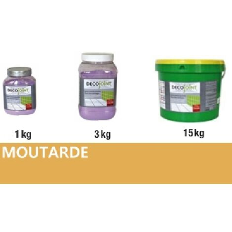 Joint carrelage faience ocre moutarde | 3kg (pot)