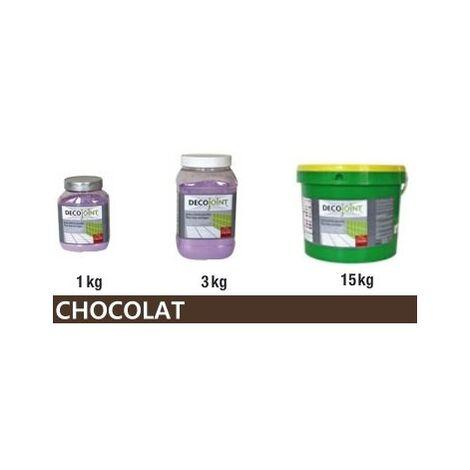 Joint carrelage marron chocolat   15kg (seau)