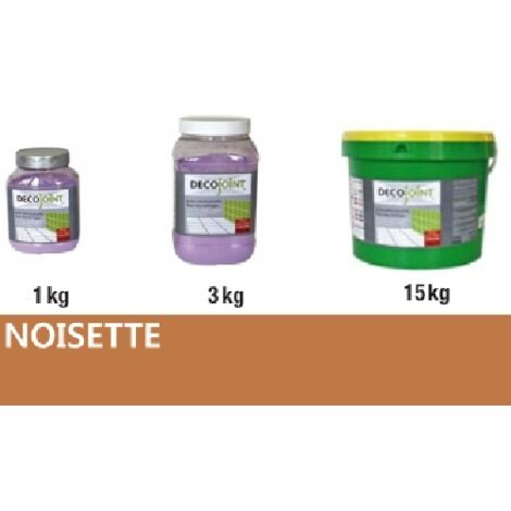 Joint carrelage marron noisette | 15kg (seau)