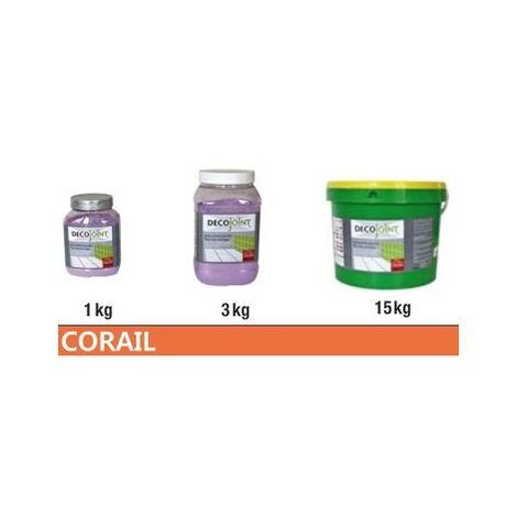Joint carrelage orange corail | 3kg (pot)
