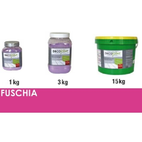 Joint carrelage rose fuschia | 3kg (pot)