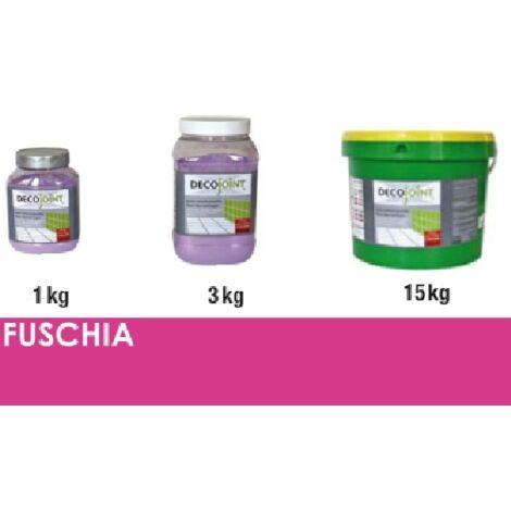 Joint carrelage rose fuschia | 3kg (pot)