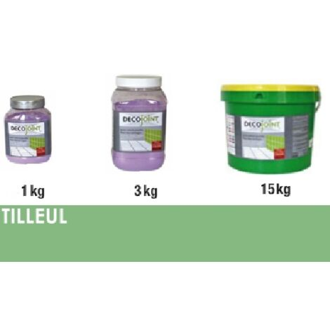 Joint carrelage vert tilleul | 1kg (pot)