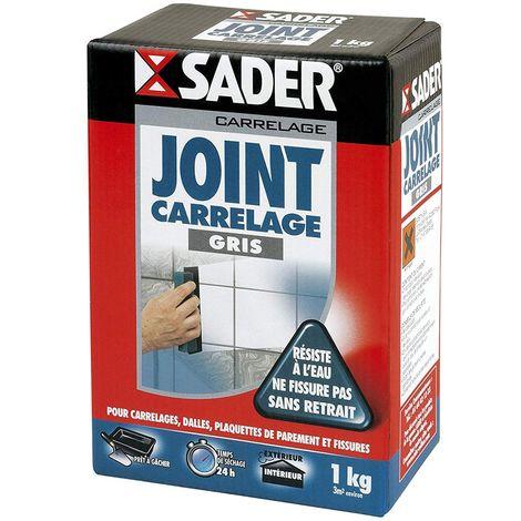Joint carrelage Sader 1kg | Couleur: Gris