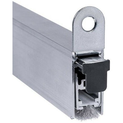 Joint de bas de porte automatique EllenMatic Brush 833 mm avec support de montage