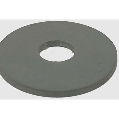 Joint de chasse d'eau 56Mmx18Mm Plastique Gris Saneaplast