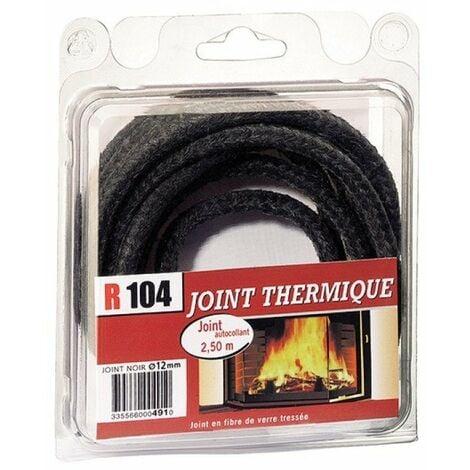 """main image of """"Joint de cheminée fibre de verre diametre 12mm + tube de colle - R104"""""""