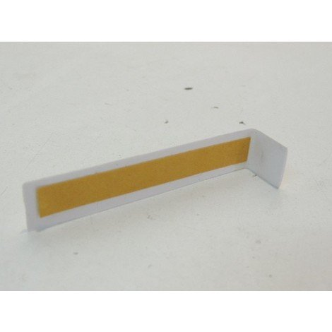 Joint de couvercle adhesif hauteur 16mm blanc pour moulure et goulotte LEGRAND 033647