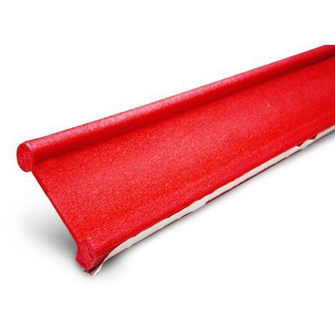 Joint de dilatation PE avec base autodésive - pour panneau lisse et bosselé H=90 mm L=2MT