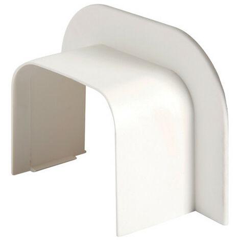 Joint de mur p CLM50065 p50mm h65mm IK08-IK10 PVC rigide RAL 9010 blanc paloma (CLM500659)