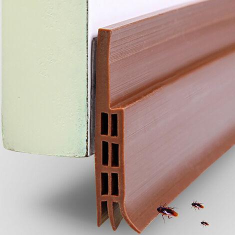 Joint de pare-brise en silicone pour bas de porte auto-adhésif résistant aux intempéries
