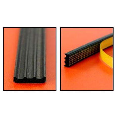 Joint d'étanchéité EPDM 141 KISO - 12x3 mm - Noir - Rouleau 150 mL - 1413x12N