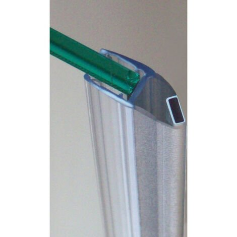 """main image of """"Joint d'étancheité magnétique - Pour verre d'épaisseur : 6 à 8 mm - Largeur : 26 mm - Décor : Translucide - Longueur : 2000 mm - Matériau : PVC - ADLER - Longueur : 2000 mm"""""""