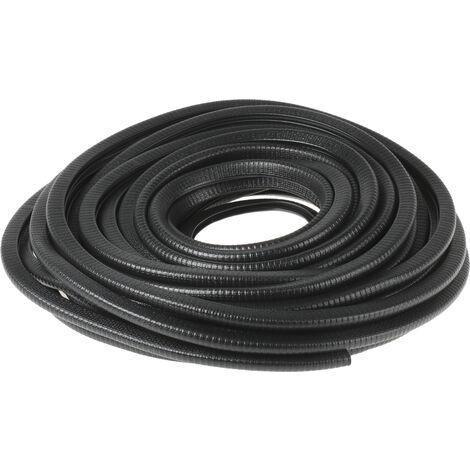 Joint d'étanchéité RS PRO en PVC Noir, 20m x 14.4mm x 10.5mm
