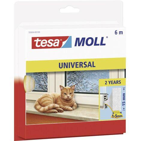Joint en bande tesamoll® tesa 05412-00100-00 blanc (L x l) 10 m x 9 mm caoutchouc 1 rouleau(x)