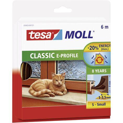 Joint en bande tesamoll® tesa 05445-101 marron (L x l) 10 m x 9 mm caoutchouc 1 rouleau(x)