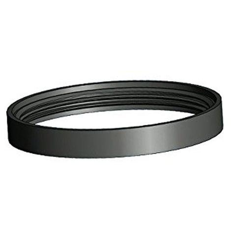 Joint en silicone ∅ 80 mm pour poêle haute température Noir - Noir