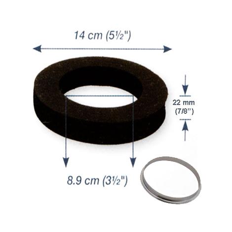 Joint mousse autocollant et rondelle métallique pour centrale HD 800