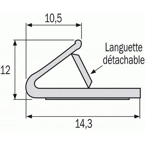 Joint polychloroprène thermique et phonique coupe-feu pour menuiserie plate rouleau 75 m
