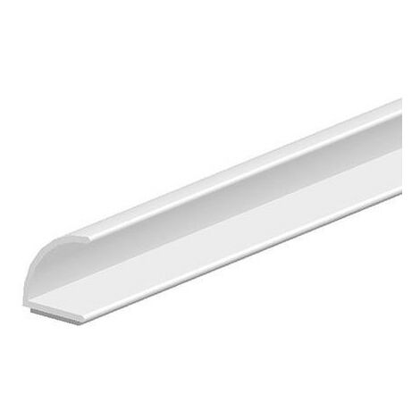Joint porte 25m - Joint en V auto-adhésif- 1024T marron - 7mm x H 8mm Silicone