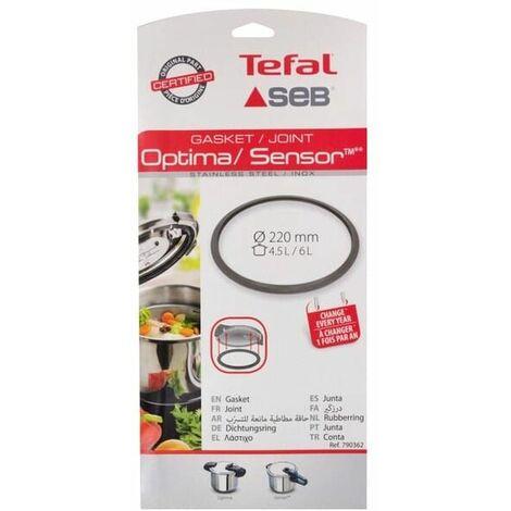 Joint sensor/optima 3l/4,5l/6l inox pour Autocuiseur Seb, Cocotte Seb, Autocuiseur Tefal