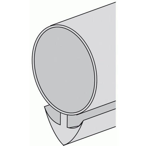 Joint siliconé clipsable marron 100 m x 6 mm pour rainureuse - Marron