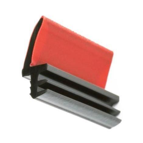 Joint sur dormant en PVC - L 311 - pour rainure de 3 mm - finition brun - 40 m