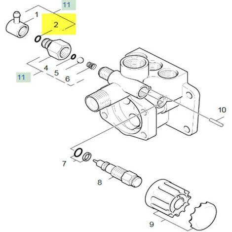 Joint Torique 8.0 X 2.0 63621010 Pour NETTOYEUR HAUTE-PRESSION