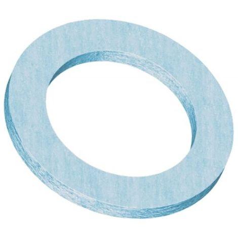 Joints fibre élastomère bleu CNK, Ø écrou 20x27 en boite de 50