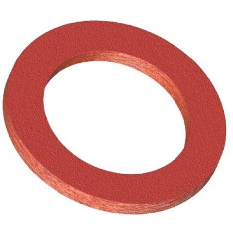 Joints fibre vulcanisée rouge Sirius Ø écrou 20x27 en boîte de 100