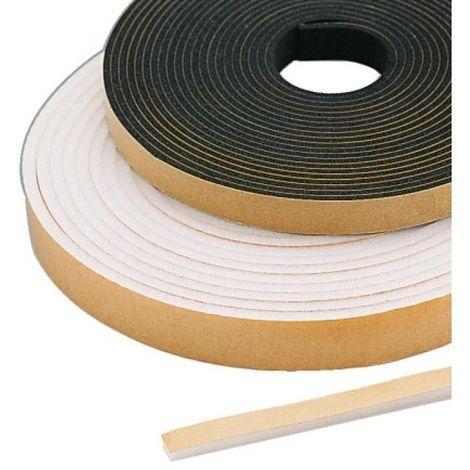 Joints mousse polyuréthane blanc 10 m x 19 mm carton de 16 rouleaux