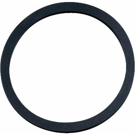 Joints sous-tasse siphon noir , 66x55x3mm Emballage 10 Pieces