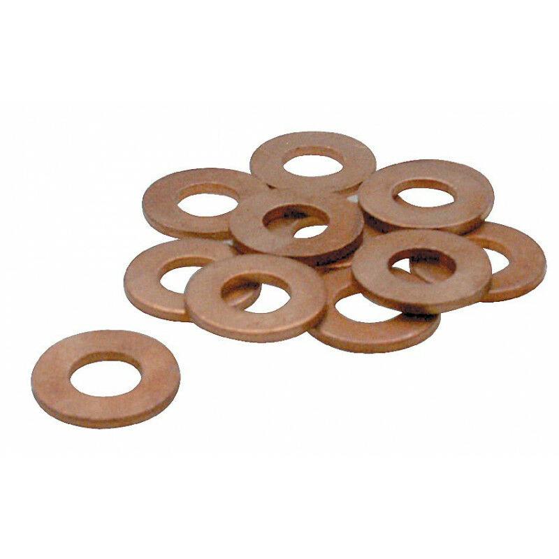 Joints vidange X 6, en cuivre, diamètre 1 4mm - AUTOBEST