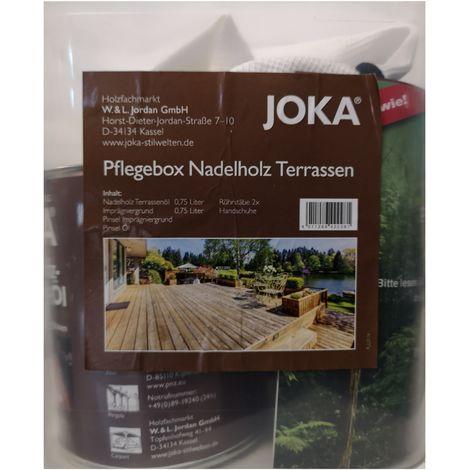 Joka Kit wood deck maintenance of conifers