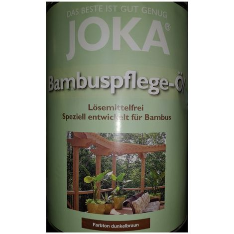 Joka special care Oil Bamboo 2.5L - Coloring dark brown