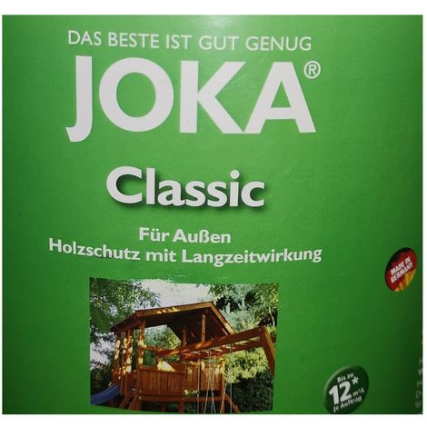 Joka transparent protection varnish exterior wood 10L - Mahogany