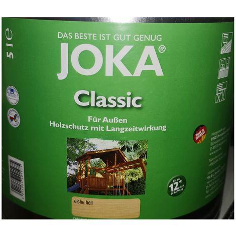 Joka transparent protective lacquer exterior wood 5L - Light Oak
