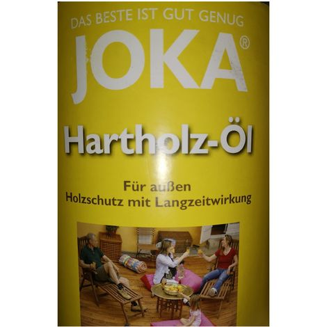 Joka wood care oil 0.75L Outdoor - Bordeaux (Rotbraun)