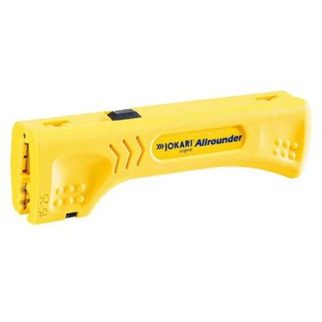 Jokari All rounder Flat and Round Wire Cable Stripper 4 to 15mm Cable JOK30900