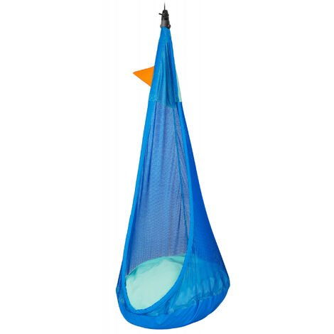 Joki Air Moby - Nid-hamac enfant max outdoor avec fixation - Bleu / turquoise