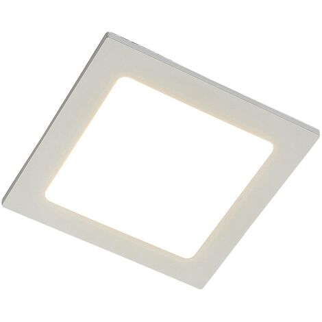 Joki LED downlight white 3000 K angular 17 cm