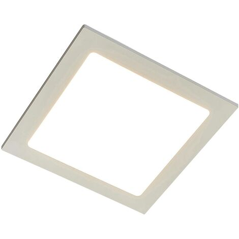 Joki LED downlight white 3000 K angular 24 cm