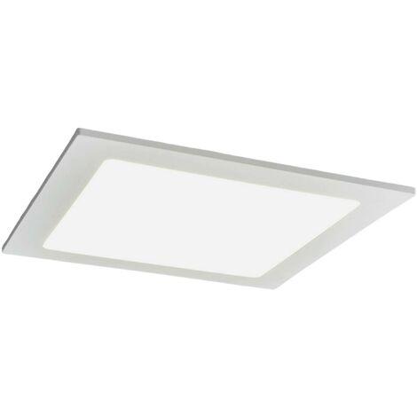 Joki LED downlight white 4000K angular 22cm