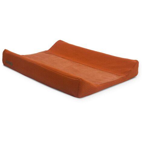 Jollein Changing Mat Cover Brick 50x70 cm Velvet Rust