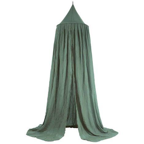 Jollein Mosquito Net Vintage 245 cm Ash Green - Green