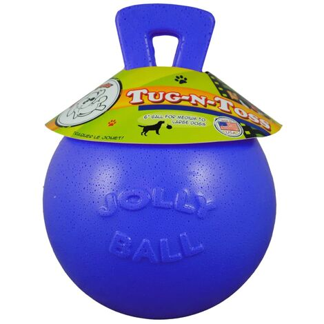 Jolly Pets Jolly Ball Tug-n-Toss 20 cm Blue
