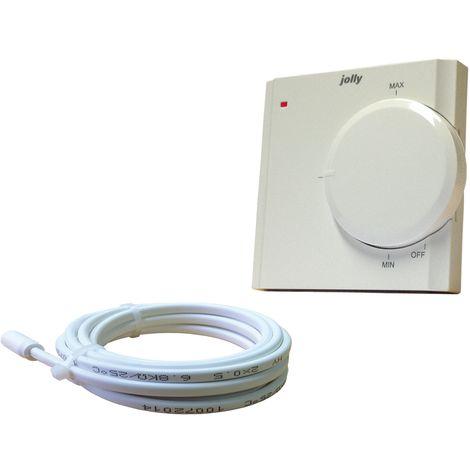Jollytherm 00131 Thermostat Standard unter Putz elektr Regler Fußbodenheizung