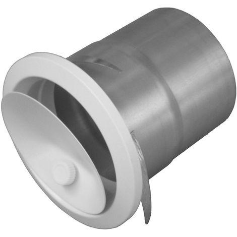 JONCOUX Bouche de soufflage réglable par molette BIR pour conduits DAC 125