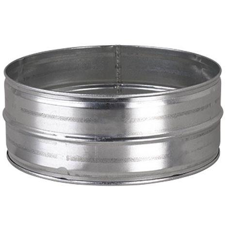 JONCOUX Manchon mâle acier galva pour raccordement conduits flexibles DAC 80mm