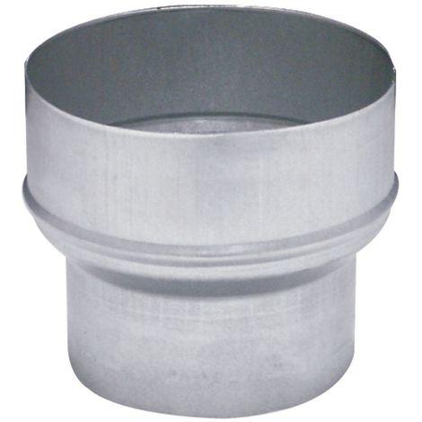 JONCOUX Réduction conique 125/100 pour raccordement sur conduits flexibles 100